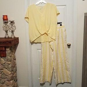 Pants/blouse
